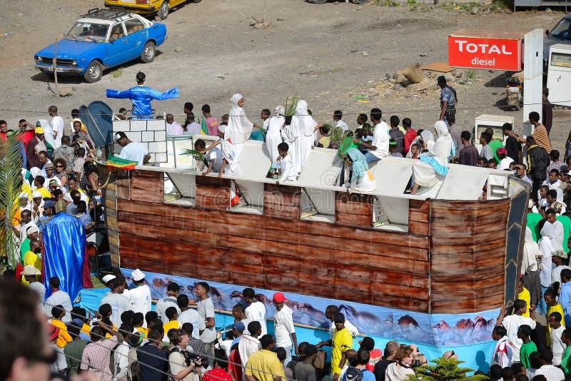Timkat beröm i Etiopien royaltyfri bild