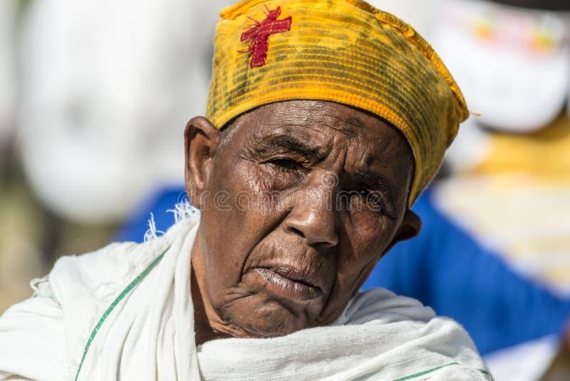 Timkat beröm i Etiopien arkivfoto