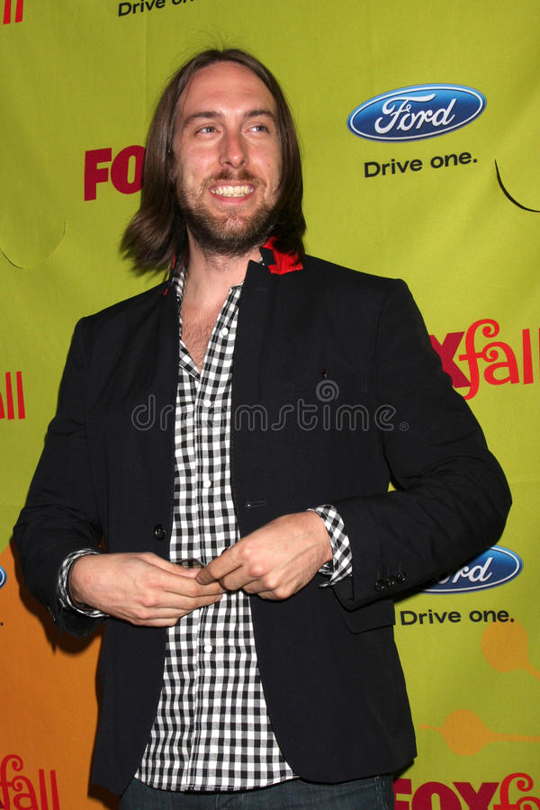 Timm Sharp. Arriving at the FOX-Fall Eco-Casino Party at BOA Steakhouse in West Los Angeles, CA on September 14, 2009 royalty free stock images