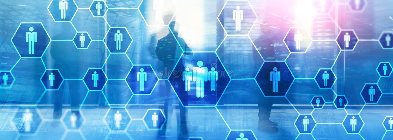 Timme, personalresurs-, rekrytering-, organisationsstruktur och socialt n?tverksbegrepp royaltyfri fotografi