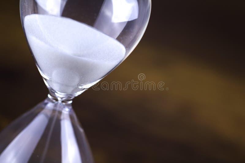 Timmeexponeringsglascloseup royaltyfria foton