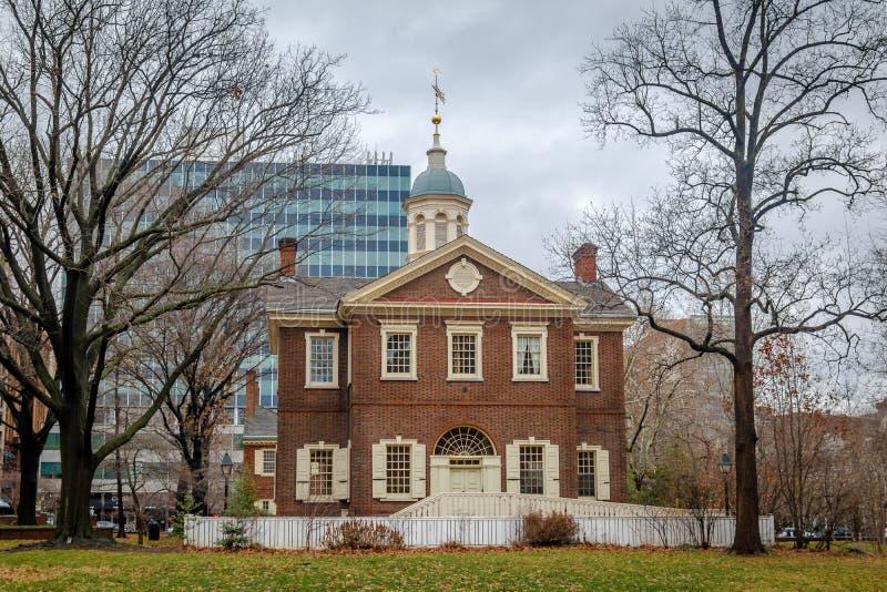 Timmerliedenzaal - Philadelphia, Pennsylvania, de V.S. stock foto's