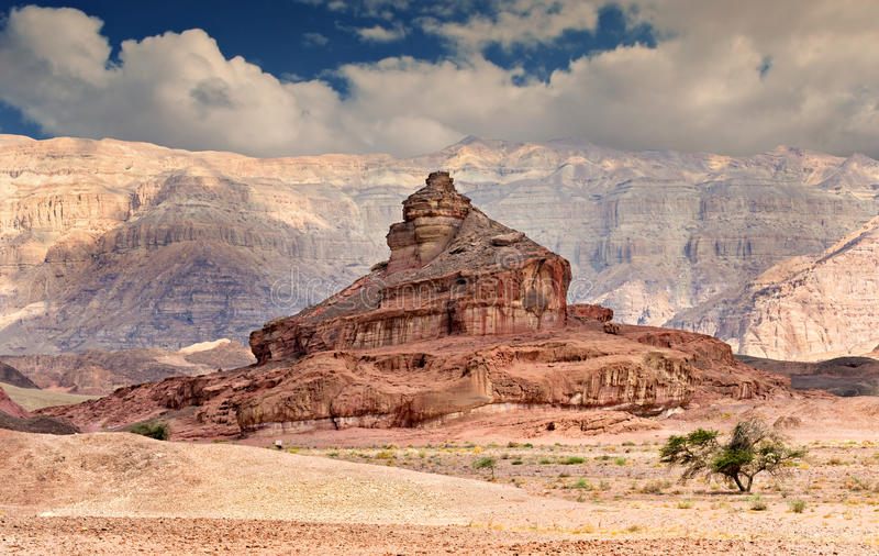 timna парка Израиля образования геологохимическое стоковая фотография rf