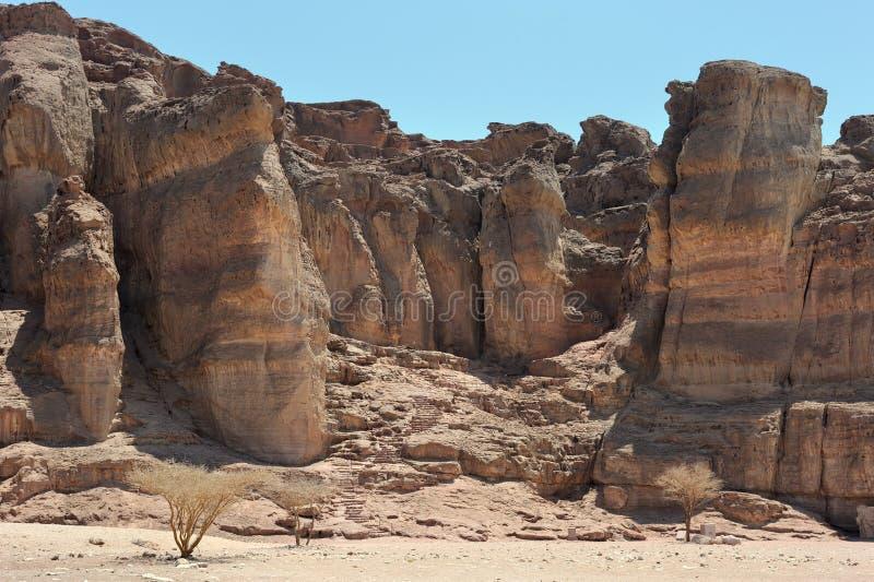 Timna Nationalpark stockbild