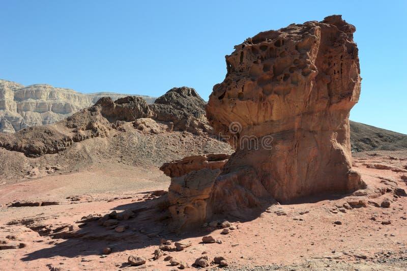 Timna Nationalpark stockfotografie