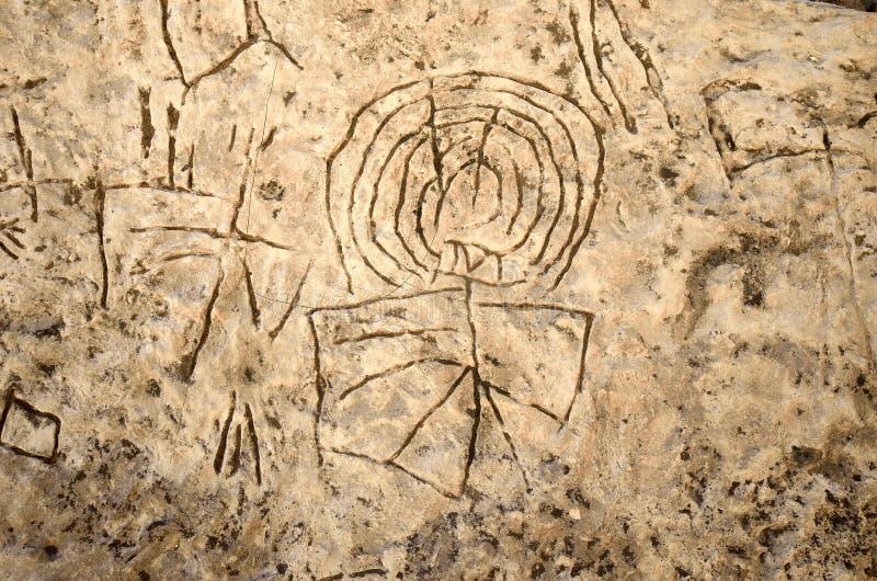 Timna nationalpark royaltyfri foto