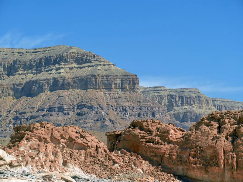 Timna Park of Israel royalty free stock images