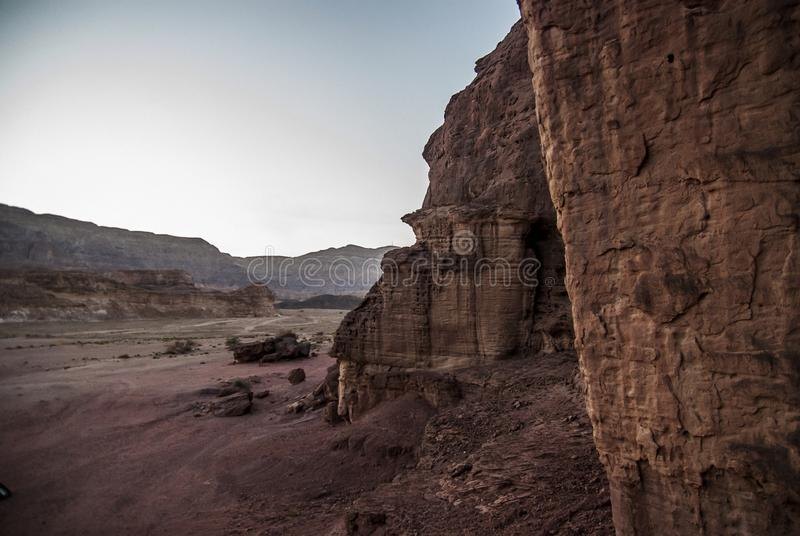 Timna park. Near Eilat, Israel royalty free stock photography