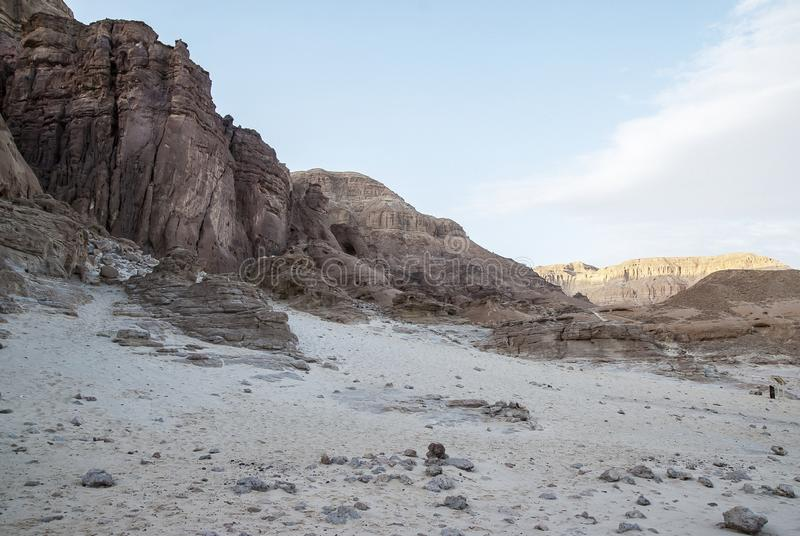 Timna park. Near Eilat, Israel stock photo