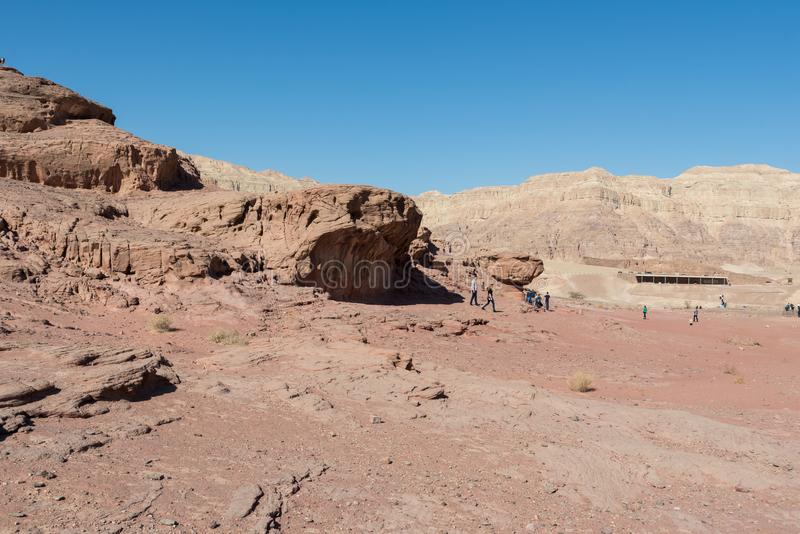 At Timna Park, near Eilat. Israel royalty free stock photos