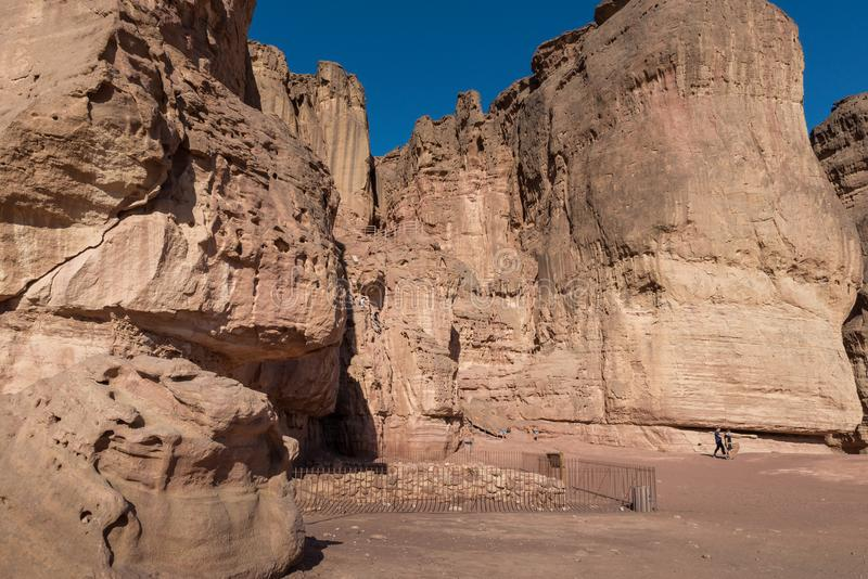 At Timna Park, near Eilat. Israel stock photography