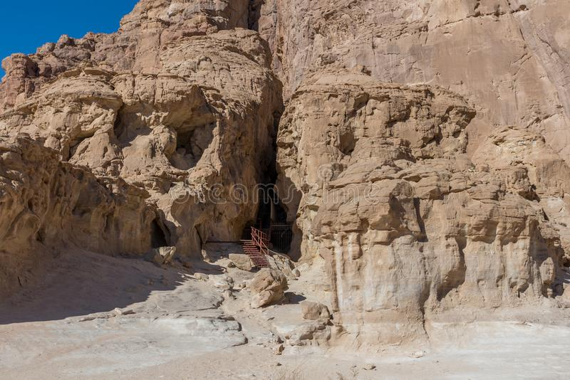 At Timna Park, near Eilat. Israel royalty free stock image