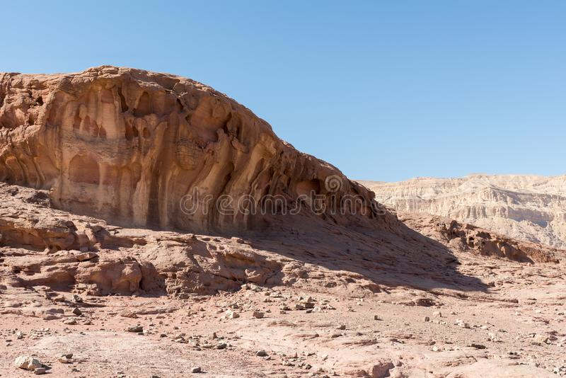 At Timna Park, near Eilat. Israel stock image