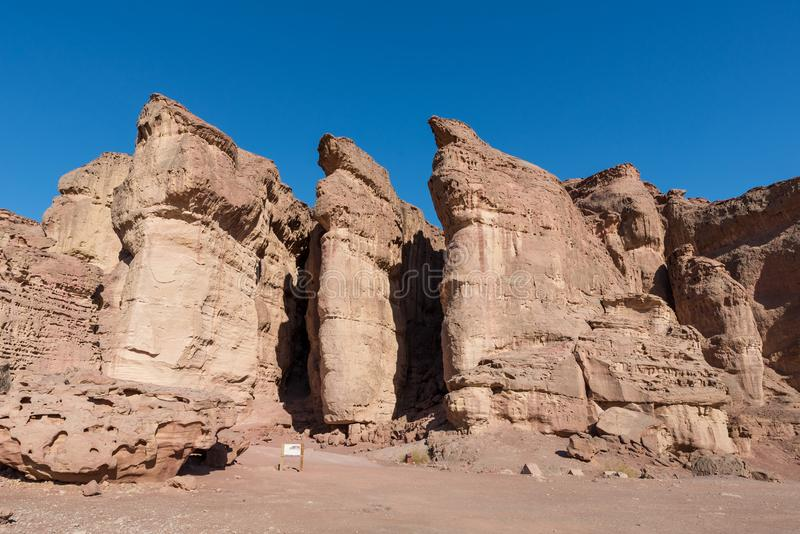 At Timna Park, near Eilat. Israel stock photos