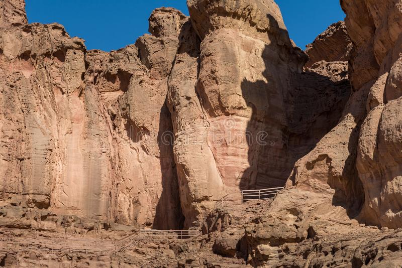 At Timna Park, near Eilat. Israel stock photo
