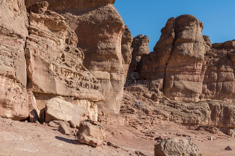 At Timna Park, near Eilat. Israel stock images