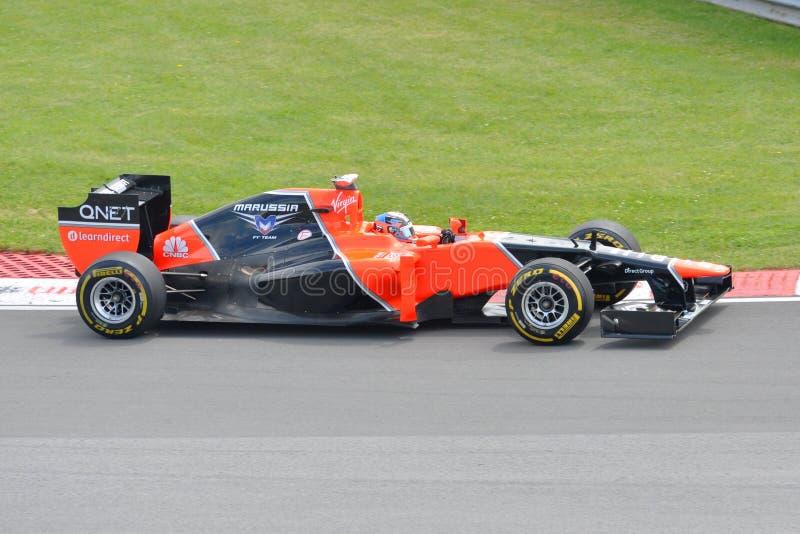 Timo Glock dans 2012 F1 Prix grand canadien images libres de droits