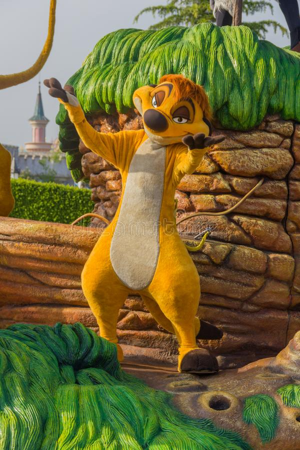Timon van Lion King stock foto
