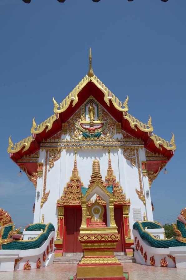 Timpano del tempiale tailandese fotografie stock libere da diritti