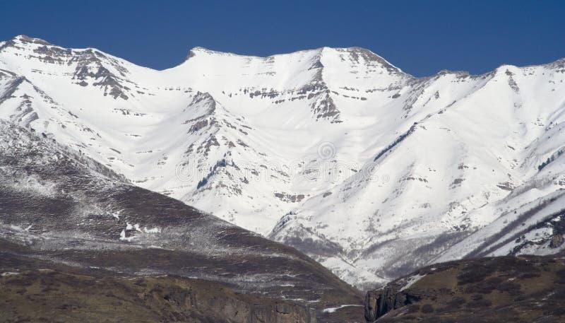 timpanogos blisko gór na zachód zdjęcie royalty free
