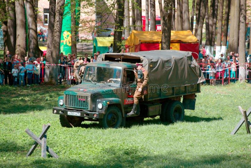 Timur Cherepnin sur le camion photo stock