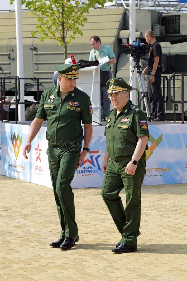 Timur Ivanov et Ruslan Tsalikov images libres de droits