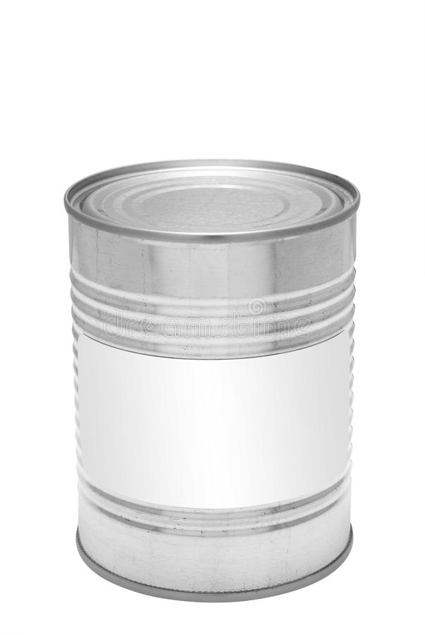 Download Tin can, isolated stock image. Image of empty, product - 20158659
