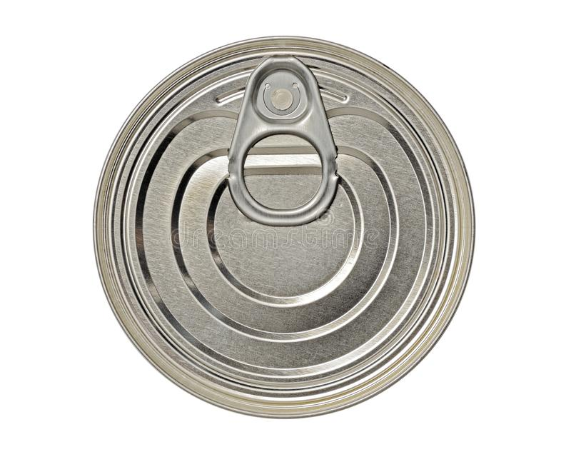 Tin Can with a Ring Pull royalty free stock photos