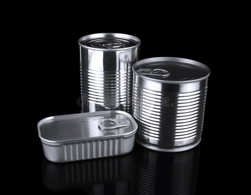 Download Tin cans stock image. Image of sardine, pull, close, object - 20677331