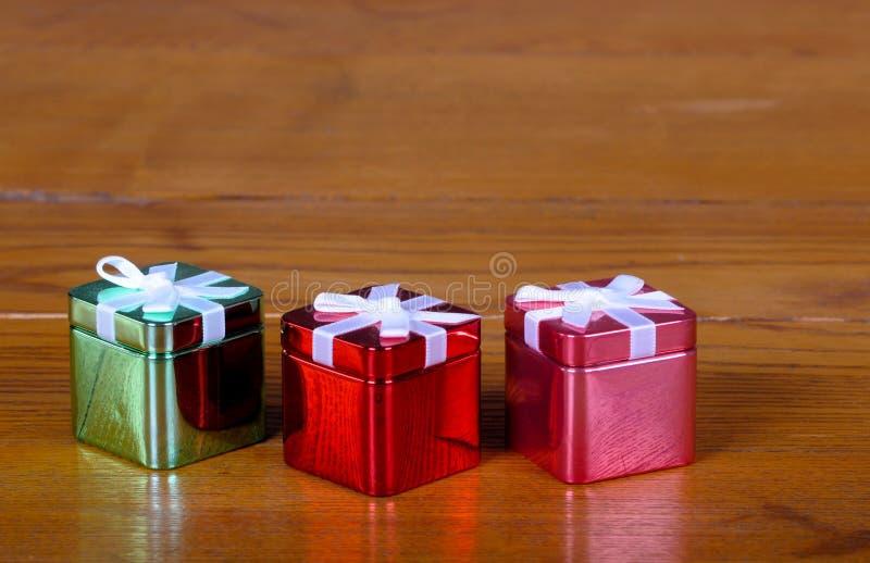 Download Tin Christmas Boxes Royalty Free Stock Photo - Image: 19757635
