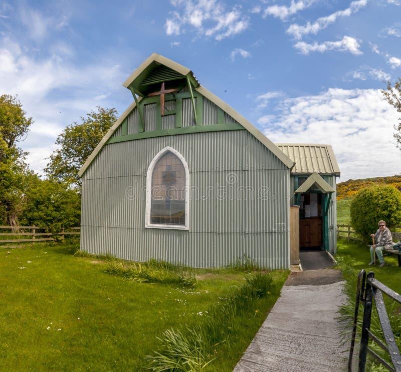 Tin Church Low Newton fotografia stock
