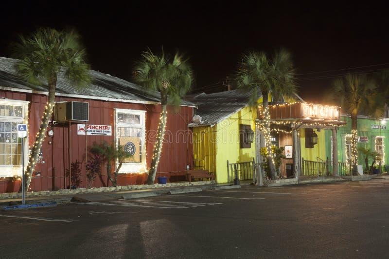 Tin City in Neapel, Florida lizenzfreie stockfotos