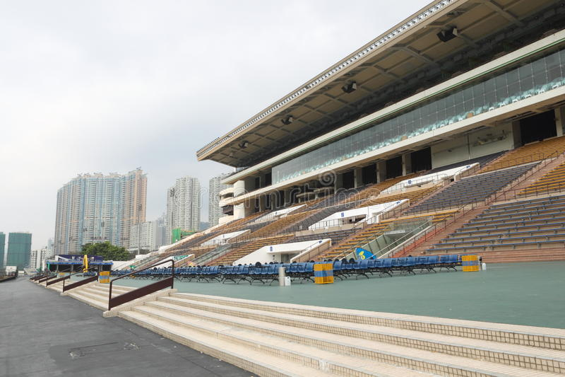 tin för Hong Kong racecoursesha arkivbild