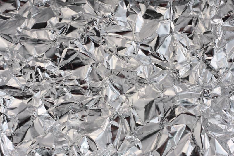 Tin foil stock photo
