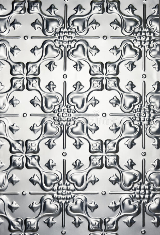 Download Tin Metal Heart Pattern Background Stock Photo - Image: 20170258