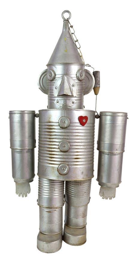 Tin Robot royalty free stock photography