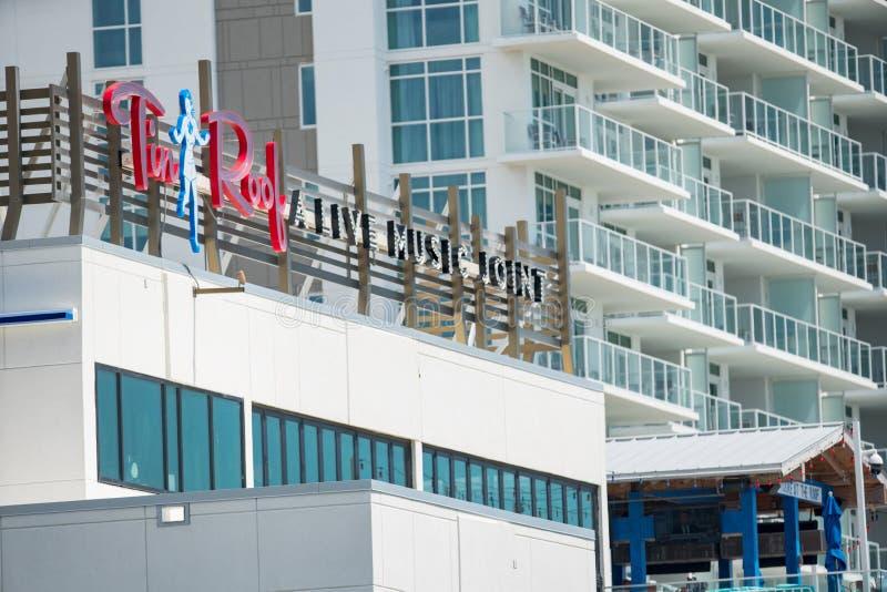 Tin Roof restaurant Myrtle Beach SC USA royalty free stock photos