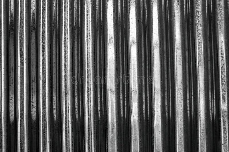 Tin roof surface. stock photos