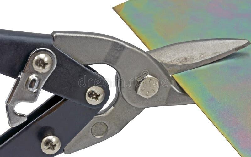 Tin Snip photographie stock