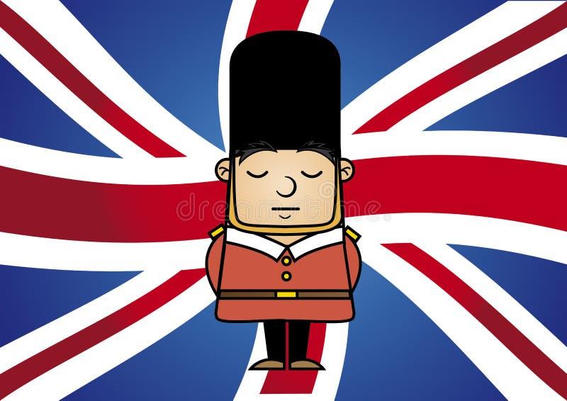 Tin Soldier royalty free illustration