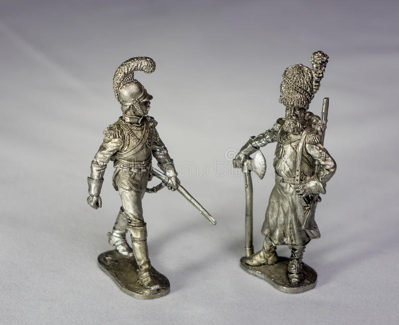 Download Tin soldiers stock image. Image of forces, miniatures - 51756759