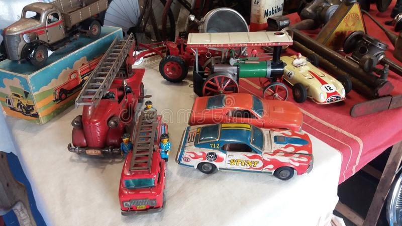 Tin Toy Cars stock foto
