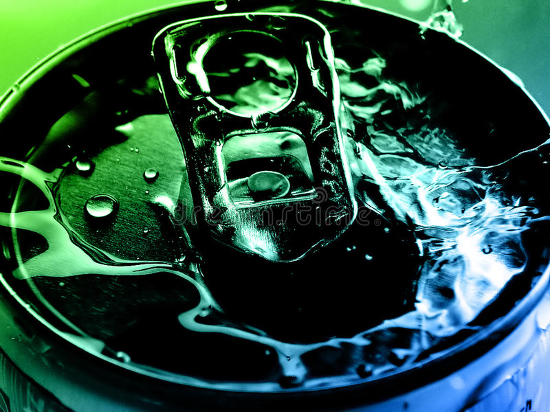 Tin water stock photography