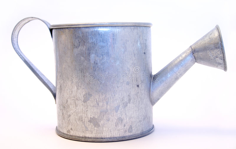 Tin Waterer Royalty Free Stock Images