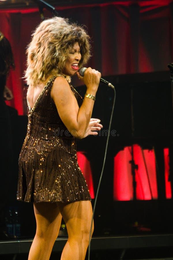 Tina Turner sous tension à Montréal photos libres de droits