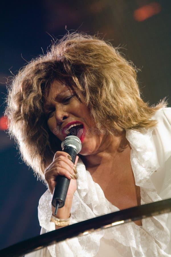 Tina Turner vivo en Montreal imágenes de archivo libres de regalías