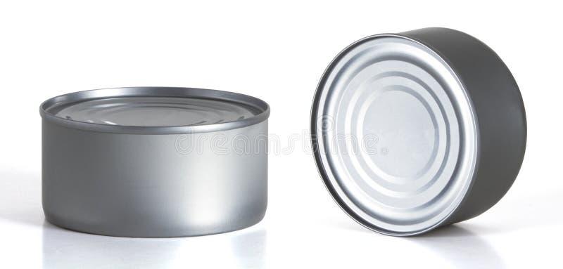Tincan сохраняет, консервы, жестяная коробка металла стоковая фотография
