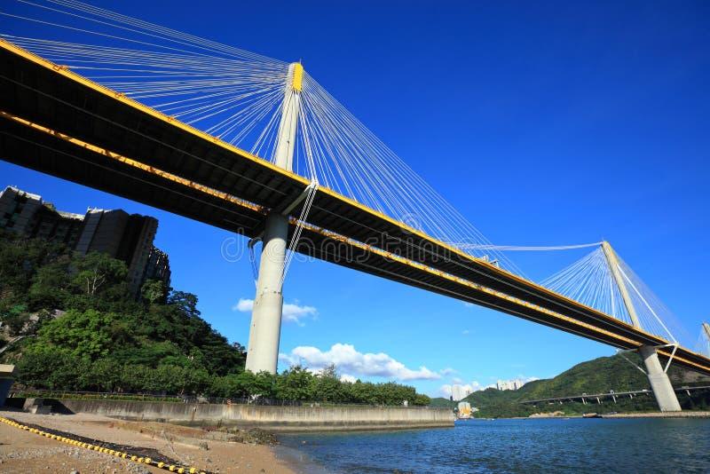 Download Ting Kau bridge stock image. Image of blur, automobile - 25699447