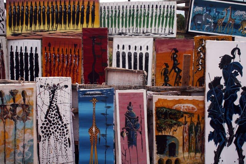 Tingatinga stock afbeelding