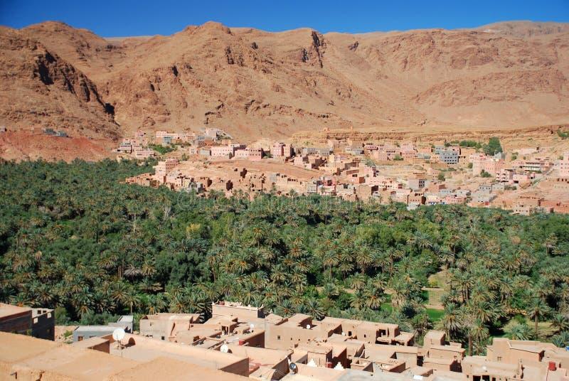 Tinghir, Souss-Massa-Drâa, Maroc photographie stock libre de droits